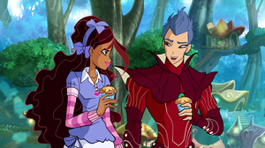 "Aisha and Nex in Pixie Village in ""Legendary Duel"" (S6, EP24)"