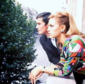 Alain and Nathalie Delon