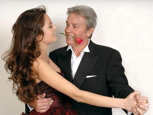 Alain and his daughter Anouchka