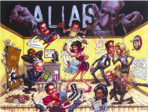 Alias Art Cast