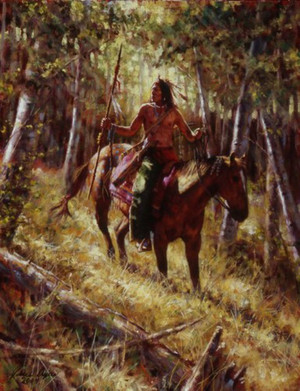 Among the Forest Spirits (Crow) by James Ayers