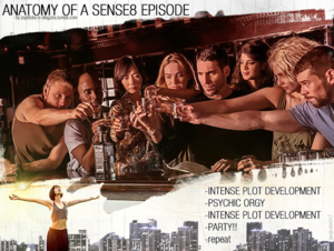 Anatomy of a Sense8 Episode