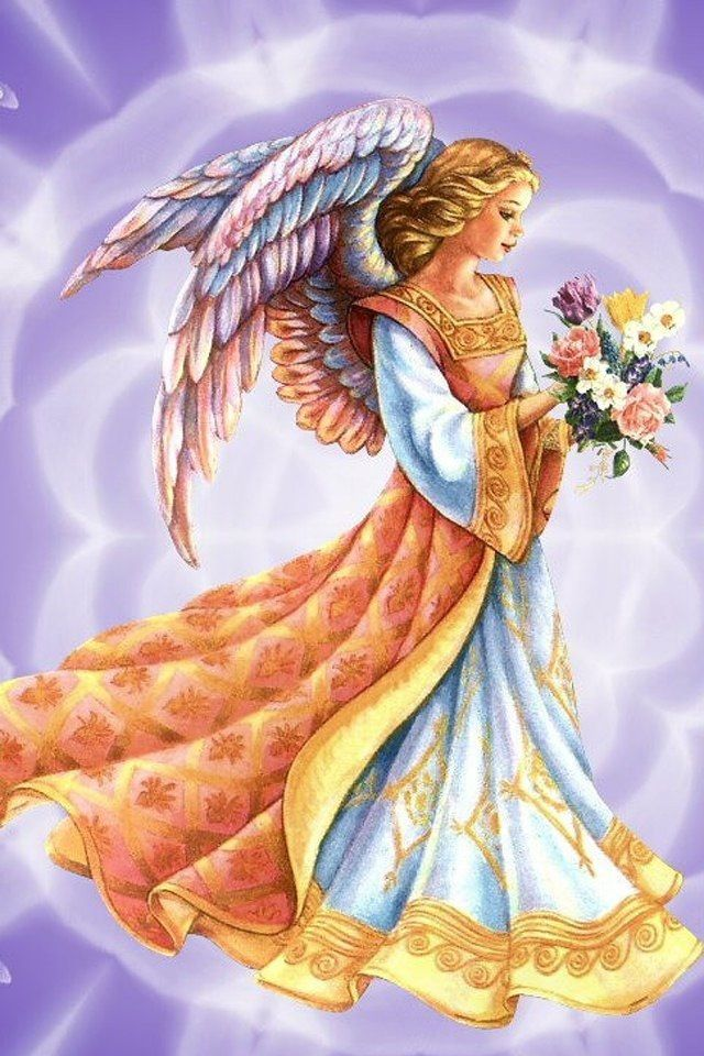 Angel Of The Flowers