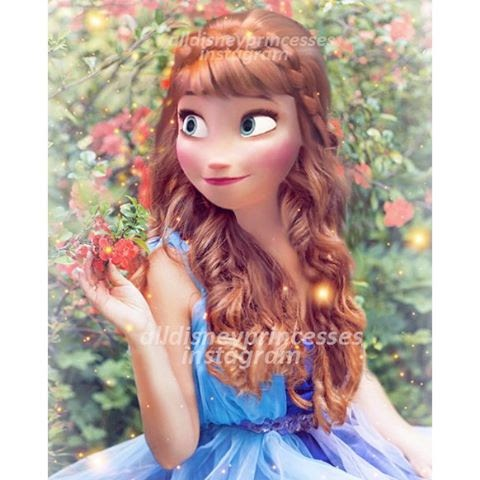 Modern Disney Princess wallpaper entitled Anna