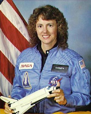 Astronaut Christa McAulliffe