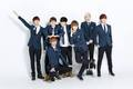 BTS 1st anniversary commerative photo