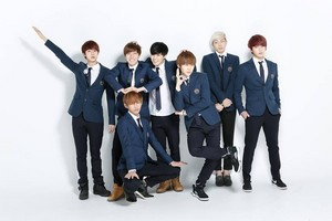 Bangtan Boys 1st anniversary commerative photo