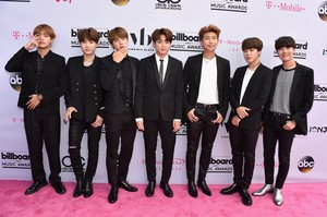 BTS at the Billboard Musica Awards 2017