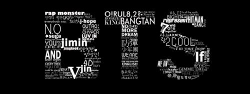 BTS hình nền called BTS logo fanart