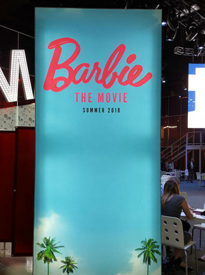 barbie Live action 2018 first poster!!
