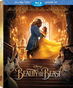 Beauty and the Beast Blu-ray Cover