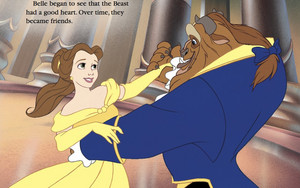 Belle And Beast Became Friends