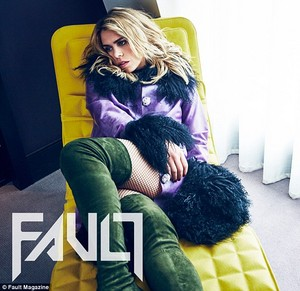 Billie Piper for Fault Magazine