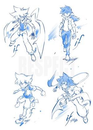 Bladebreakers (by Takafumi Adachi)
