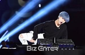 Blue Hair SHINee Taemin in Dream 音乐会 2017
