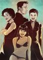 Bond Girls  - james-bond fan art
