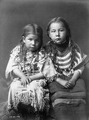 Bull Shoe's children by Edward S. Curtis
