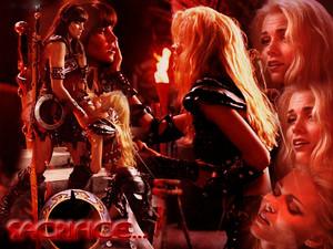 "Callisto vs Xena - Episode ""Sacrifice II"""
