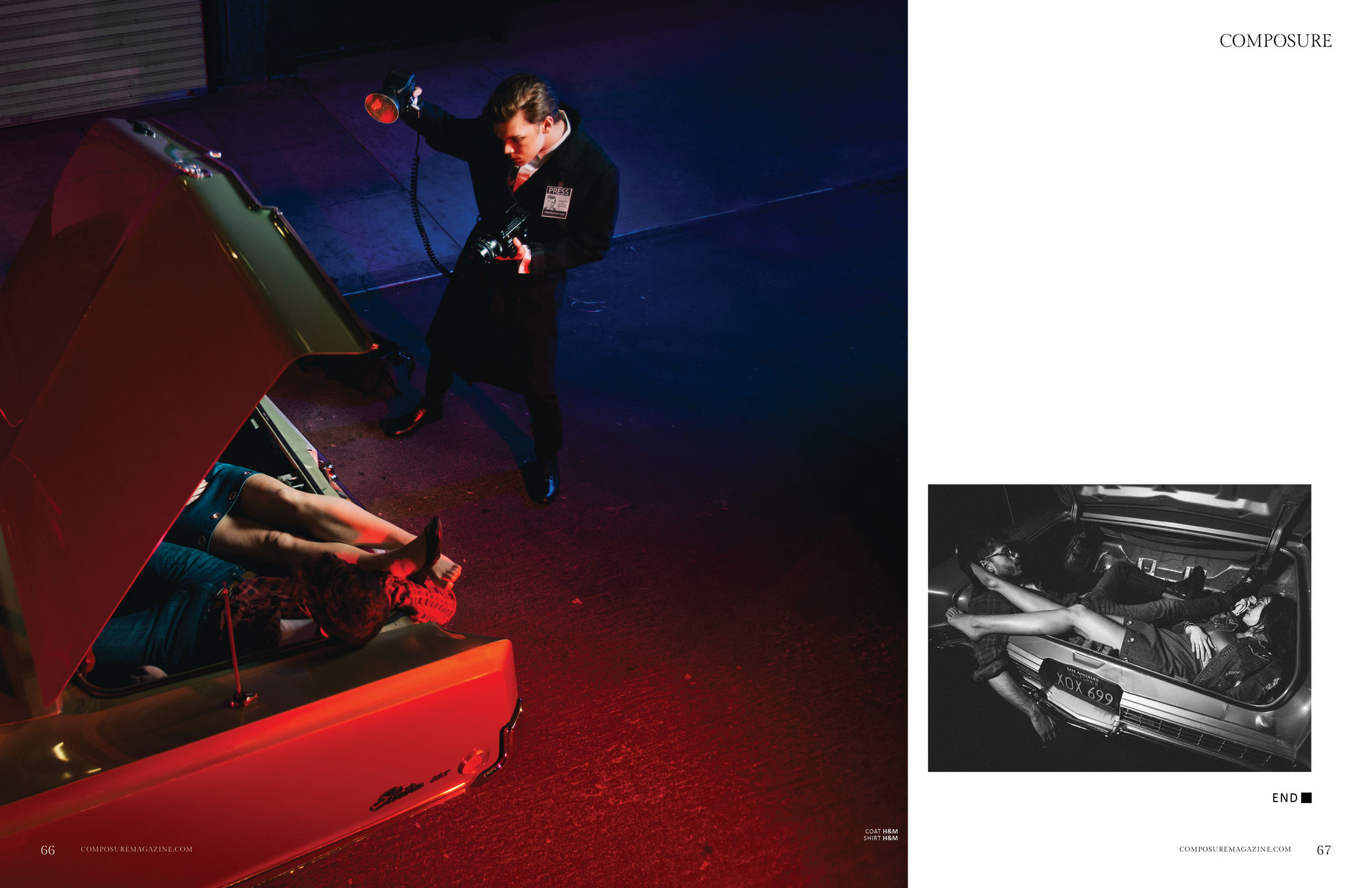 Cameron Monaghan - Composure Magazine Photoshoot - 2017