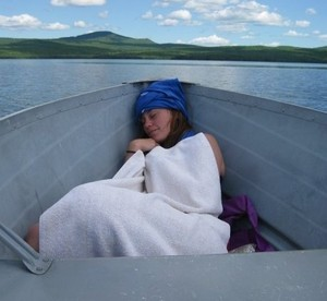Cassidy (Sleeping in a Boat)