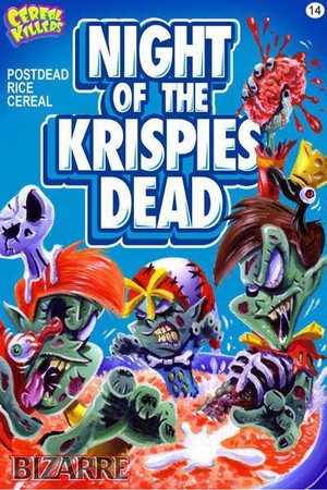 Cereal Killers Cards - Horror Parody