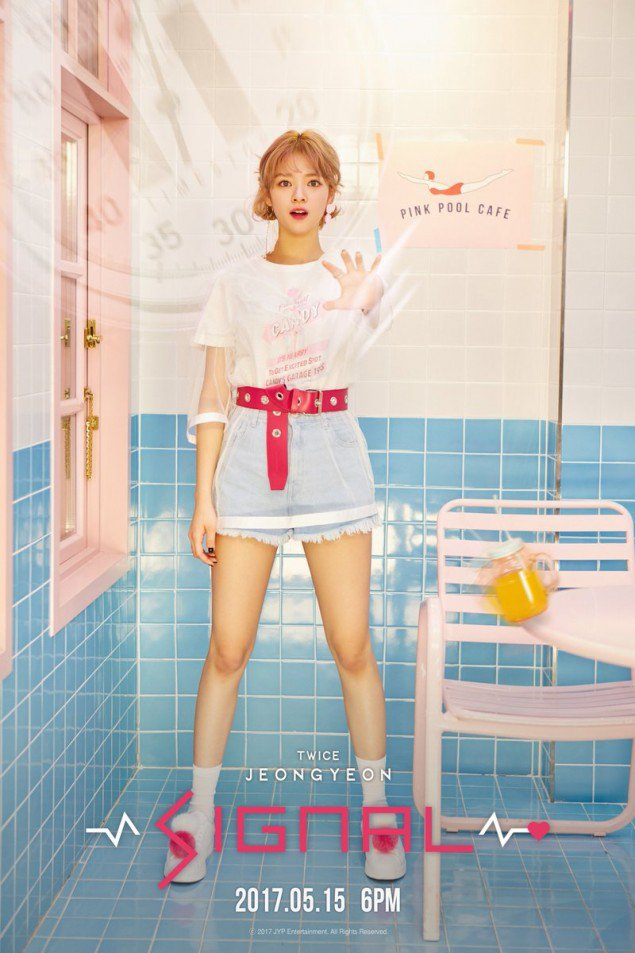 Jeongyeon's 2nd teaser image for 'Signal'