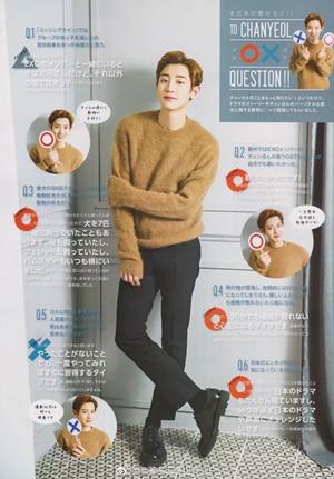Chanyeol for Haruhana Magazine Vol.42