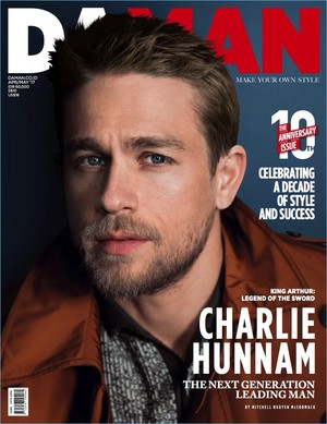 Charlie Hunnam - DaMan Photoshoot - 2017