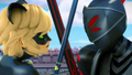 Chat Noir and Darkblade - miraculous-ladybug photo