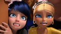 Chloé and Marinette - miraculous-ladybug photo