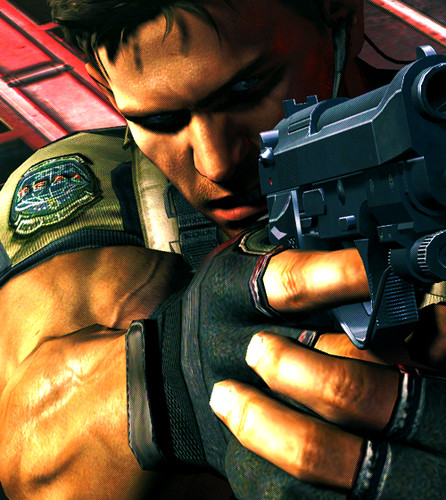 Video Games wallpaper called Chris Redfield
