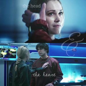 Clarke & Bellamy, The Head & The ハート, 心