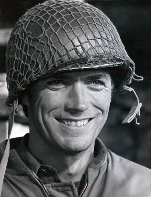 Clint on the set of Kelly's heroes