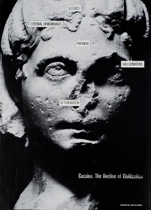Cocaine...The Decline of Civilization poster (1987)