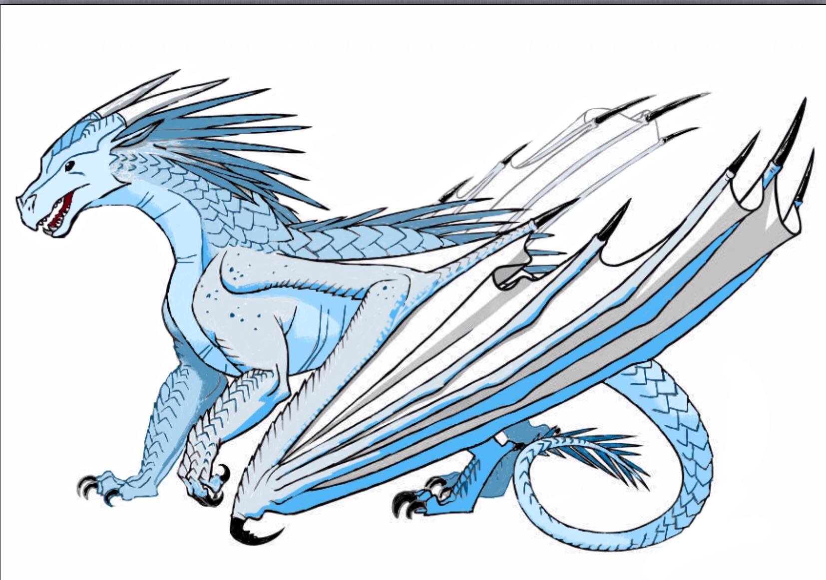 Colored Icewing Wings Of Fire 37929676 1654 1162 Wings