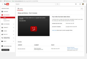 Copyright striked :/