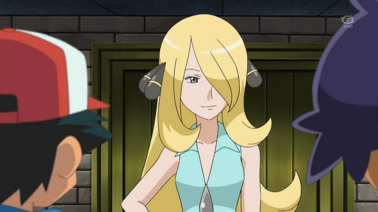 Pokemon Champion Cynthia