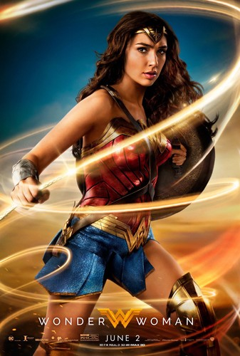 Wonder Woman (2017) karatasi la kupamba ukuta entitled Wonder Woman (2017) Poster