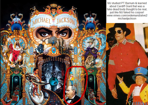 Michael Jackson wolpeyper called DANGEROUS ALBUM PT BARNUM