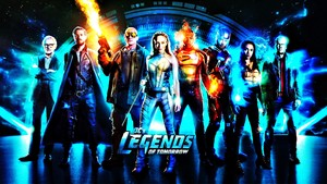 DC's Legends of Tomorrow Cast fond d'écran