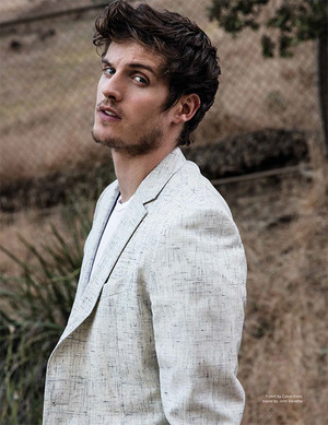 Daniel Sharman June/July issue of DaMan Magazine
