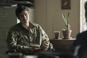 Daniel as Troy Otto in season 3 of Fear the Walking Dead.