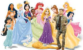 Dean Winchester & 迪士尼 Princesses