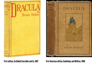 Dracula book covers