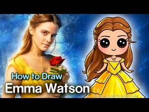 Draw So Cute How to Draw Emma Watson