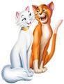 Duchess and Thomas - the-aristocats photo