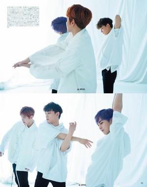EXO-CBX for Anan Japanese Magazine June 2017 Issue