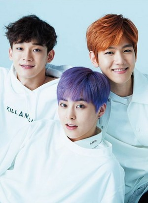 EXO-CBX for Anan Japanese Magazine June 2017 Issue