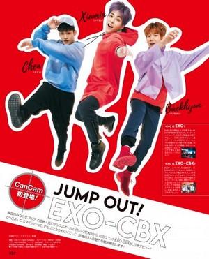 EXO-CBX for CanCam Japanese Magazine June 2017 Issue