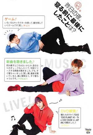 EXO-CBX for Cancam Magazine June 2017